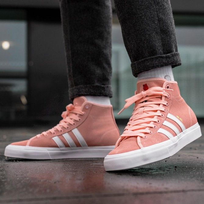 best sneakers fc664 bb48a Na-Kel Smith x adidas Matchcourt High RX