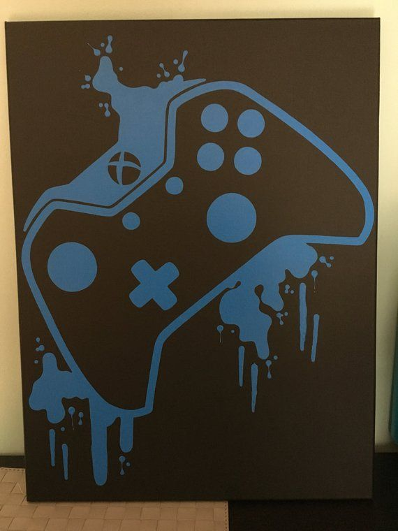 Xbox One Video Game Controller Art In 2018 Products Pinterest