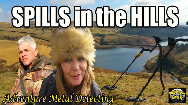 Metal Detecting with Digger Dawn - 3 Lots of Spills in the Hills (78)