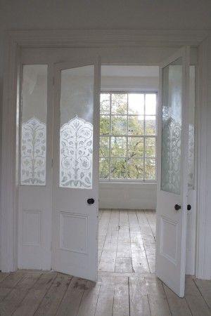 ♕ love these doors from Beach Studios New Cross location