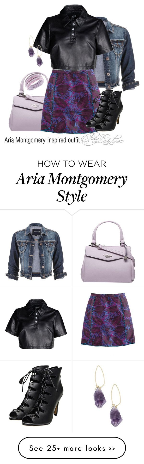 """""""Aria Montgomery inspired outfit/PLL"""" by tvdsarahmichele on Polyvore"""
