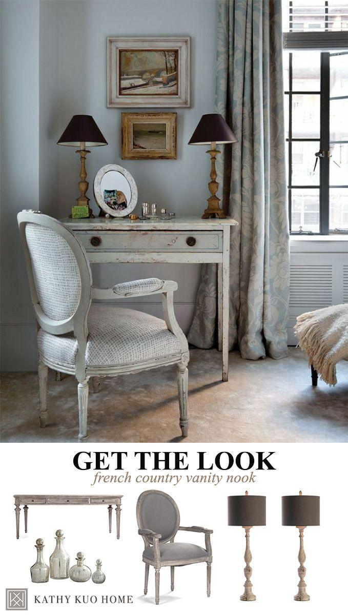French Country Vanity. Bedroom DeskBedroom ...