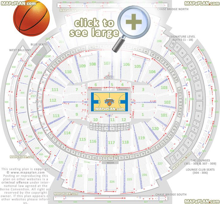 1000 images about madison square garden seating chart on