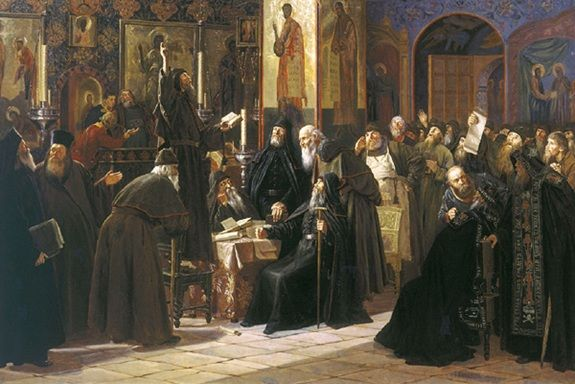 Сергей Милорадович «Восстание Соловецкого монастыря против новопечатных книг в 1666 году»