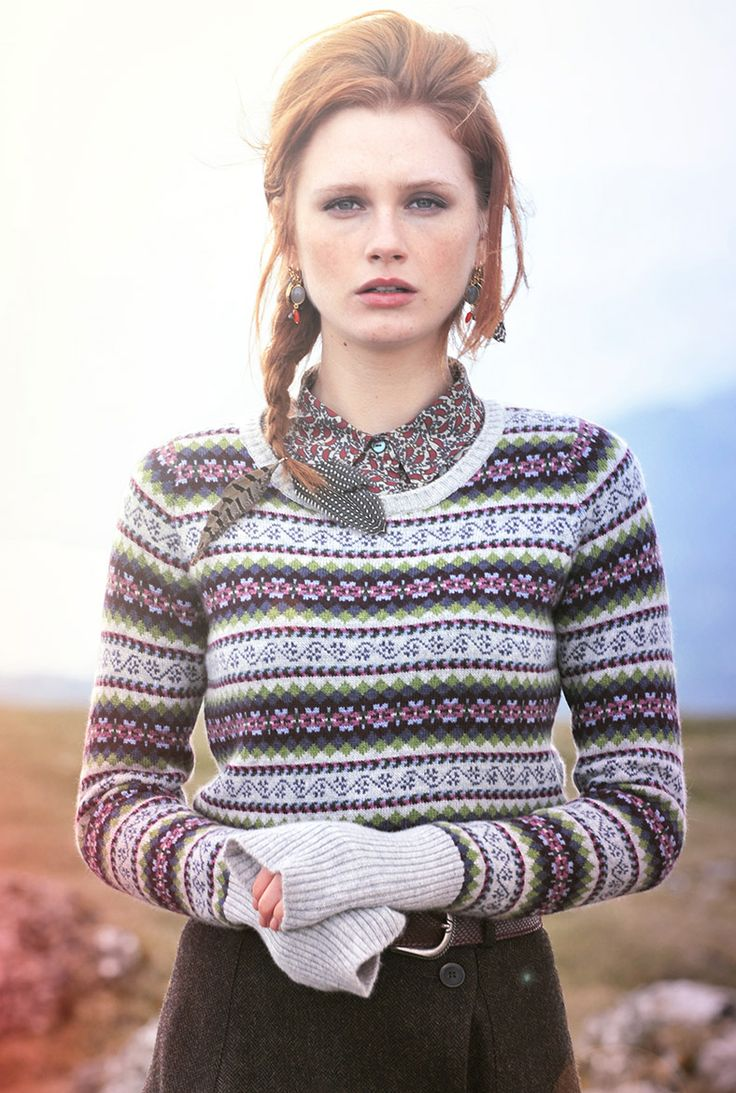 Cashmere Fair Isle Jumper - Heritage Collection