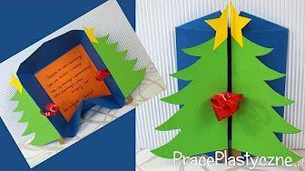Jak zrobić kartki świąteczne? - YouTube