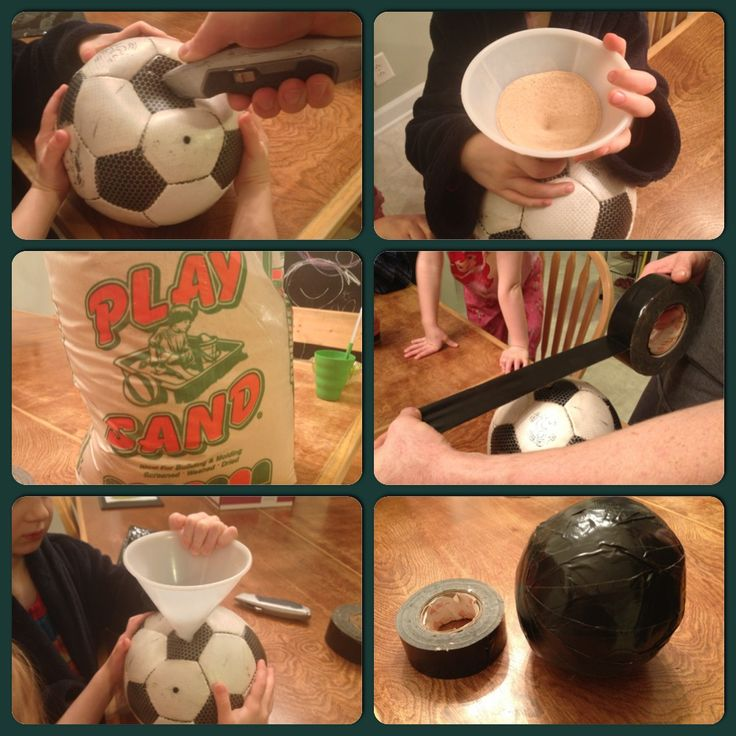 How to make a medicine ball for less than $3.