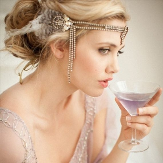 roaring 20s wedding dress   Roaring '20's Inspired Weddings and Events