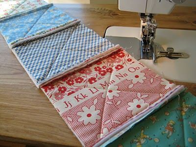 ***excellent instructions***   Quilt Tutorials and Fabric Creations - Quilting in the Rain - Rag Quilt