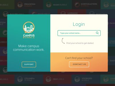 Campus Bubble login