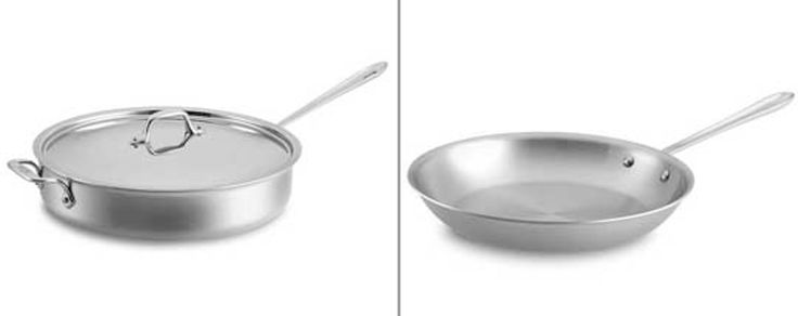 What's the Difference? Sauté Pan vs. Skillet