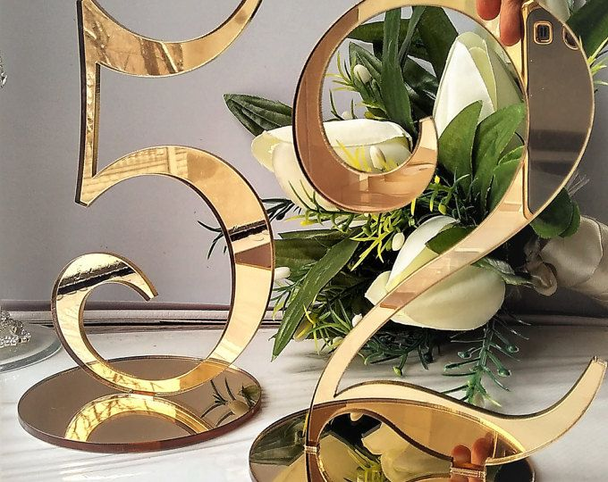 Wedding Table Number Classic Gold Table Number Gold Table Number Elegant Table Number Stand Table numbers for wedding gold Gold decor