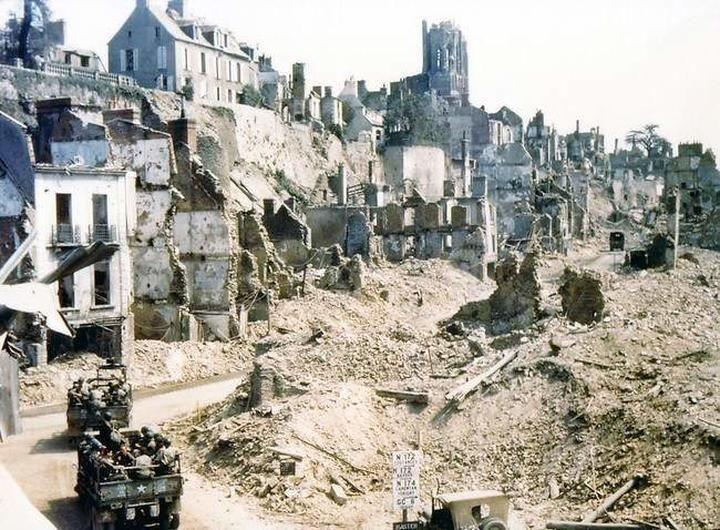 Saint-Lo, France, 1944