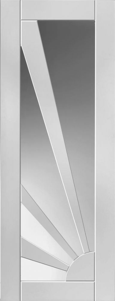 Calypso Interior DoorsWhite primed shaker style doors Light and refreshing the Calypso range offers a selection of attractive shaker panel style