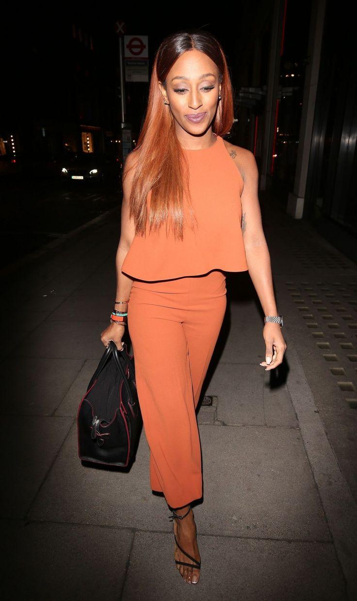 Alexandra Burke | ALEXANDRA BURKE Arrives at Hakkasan Restaurant in London ...