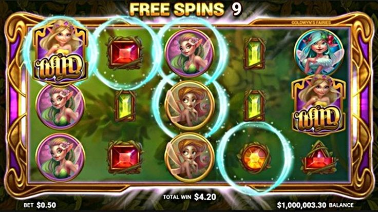 Enter the magical forest with the Goldwyn's Fairies slot, where the magic becomes a reality through fairies, jewel and many bonus modes, including free spins and other interesting symbols. #GoldwynsFairies #machinegame