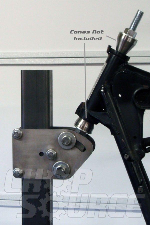 Chop Source Frame Jig Neck Fixture Jig Motorcycle Bike