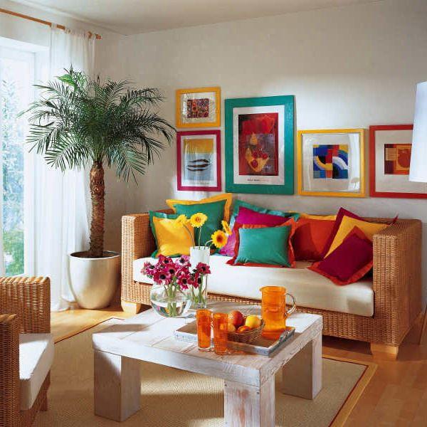 атмосфера тропического рая в доме - 7 декоративных фото-идей
