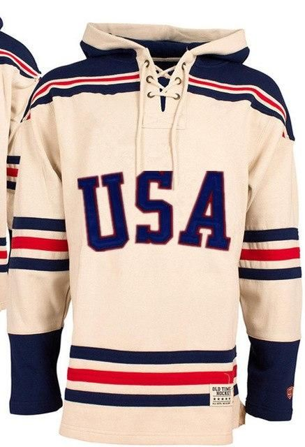 814c6b6b1 1980 Miracle On Ice Team USA Hockey Hoodie Personality Customize Any Name  Any Numeber Stitched Mens Sweater Ice Hockey Jersey
