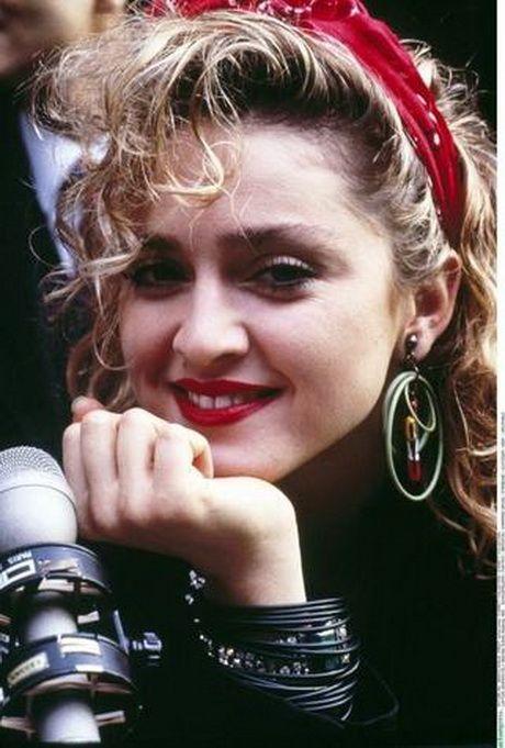 80er Jahre Frisuren 80iger Pinterest Madonna 80er Madonna Und