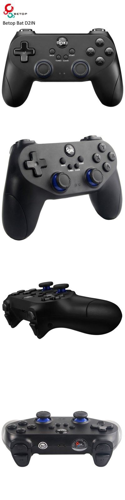 (*** http://BubbleCraze.org - New Android/iPhone game is wickedly addicting! ***)  iPhone Game Accessories | Betop Bat D2IN Wireless Bluetooth 4.0 Gamepad Game Controller