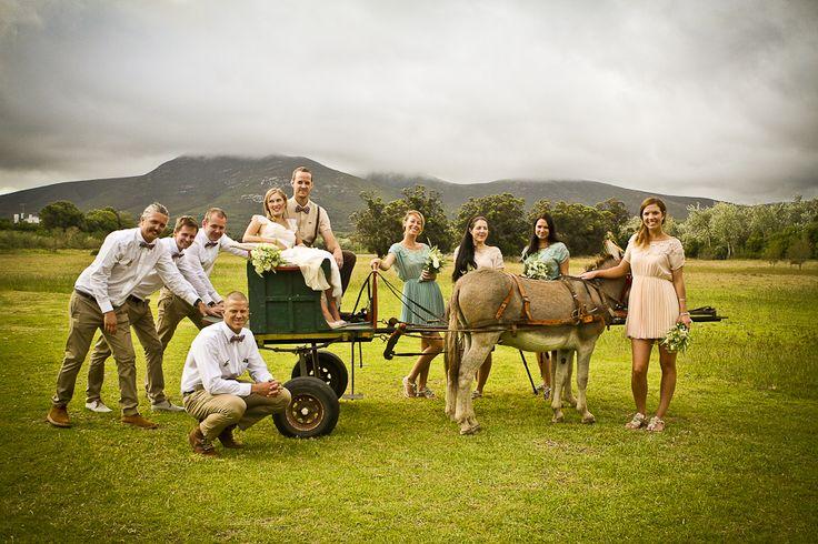 De Uijlenes wedding venue, donkey cart, rustic