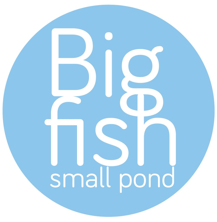 Be a big fish in a small pond