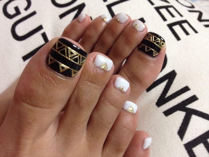 Foot nail art❤︎
