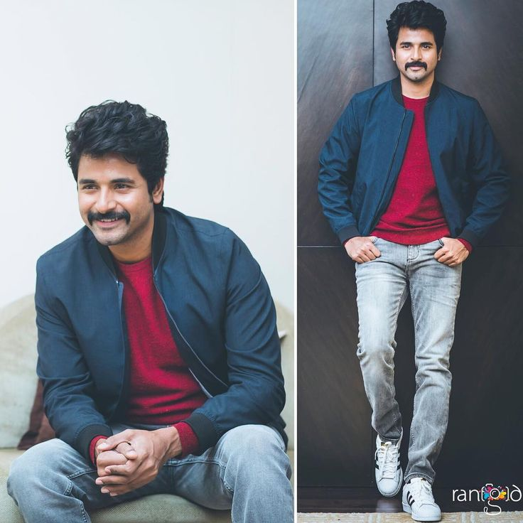 Siva Karthikeyan in @jackandjones_official & @adidasoriginals for Remo audio launch @rangdephotography ...Love❤️