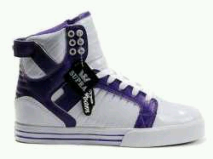 Supra Skytop White Purple For Sale