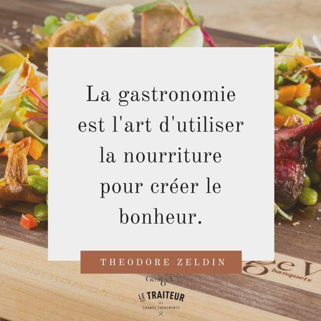 George V service traiteur #Citation #gastronomie