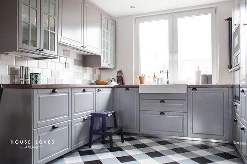 Ponad 25 najlepszych pomysłów na temat Kuchnie na Pintereście  Przechowywan   -> Kuchnia Ikea Obrazy