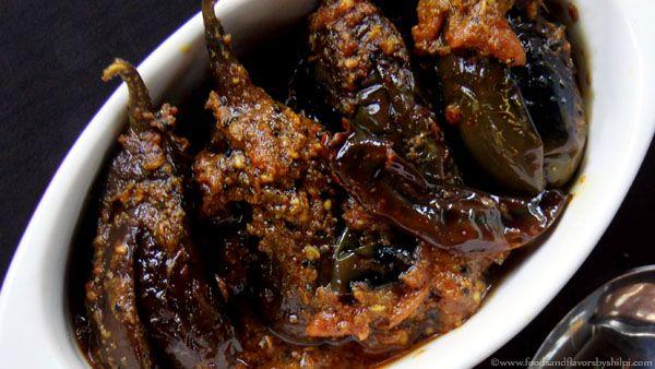 Achari Baingan Recipe | Eggplant in Picking Spices