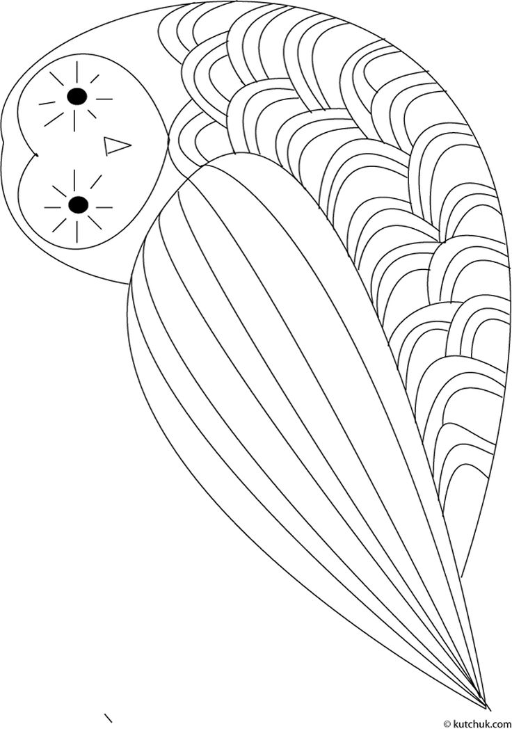 69 best Owl Coloring Pages images on Pinterest Owl coloring