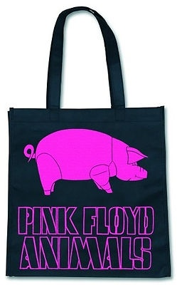 PINK FLOYD LOGO, ROBUSTE TASCHE/ECO/SHOPPING BAG, OFFICIAL MERCHANDISE PRODUCT!