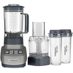 Cuisinart Velocity Ultra Trio 1-HP Blender/Food Processor with Travel Cups