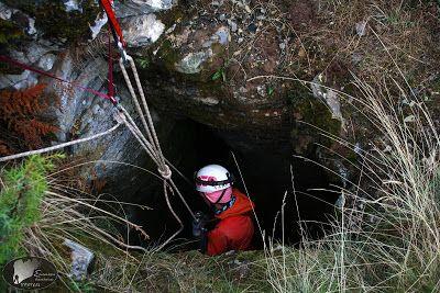 Caving at Greece