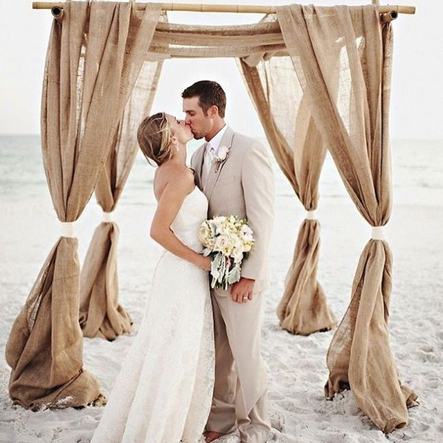 Un matrimonio da spiaggia!  Per la #listanozze? Non preoccuparti ci penso…