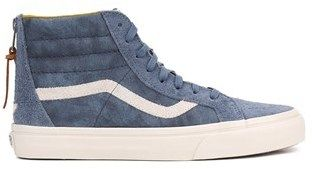 Vans Mens Sk8-hi Fabric Hight Top Lace Up Fashion Sneakers.