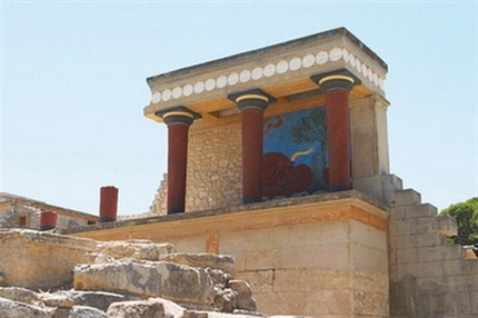 Knossos-Crete,Greece