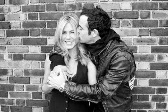 Jennifer Anison and Justin Theroux - engaged!!