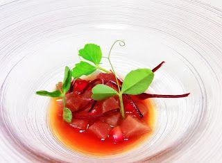 Denny Chef Blog: Cubismo di tonno su brodetto di zenzero