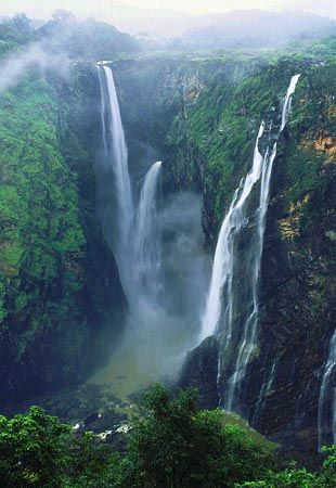 Jog Falls India...And all the crazy waterfalls.
