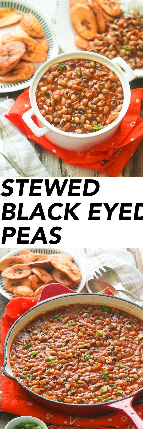 Stewed Blacked Eyed Peas | Immaculate Bites