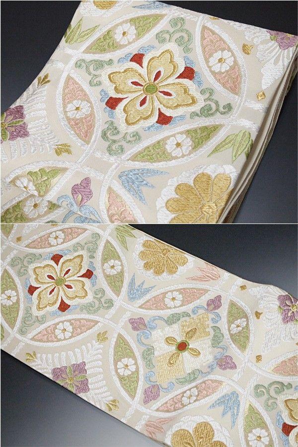 洛陽織物 謹製 高級唐織り 特撰 袋帯