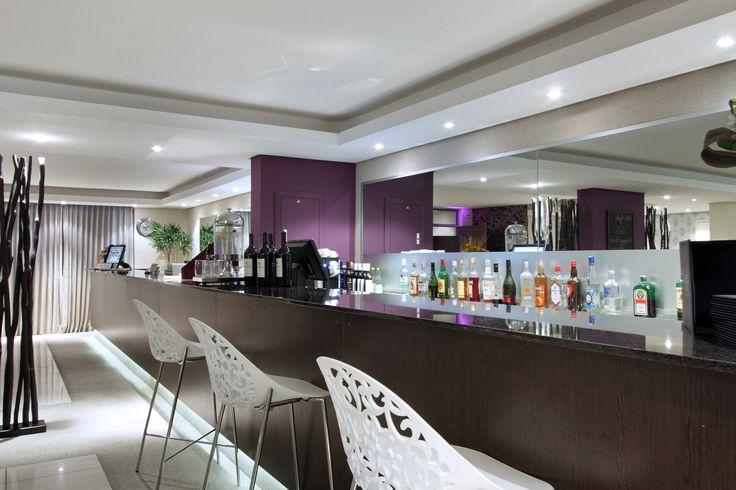 The Hyde Hotel bar setup
