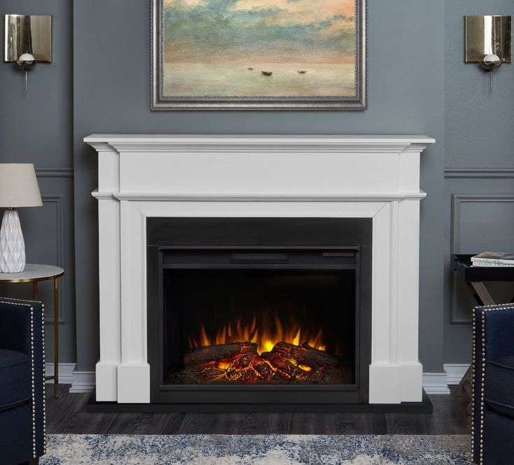 55 Quot Harlan Grand Electric Fireplace In 2019 Fireplace