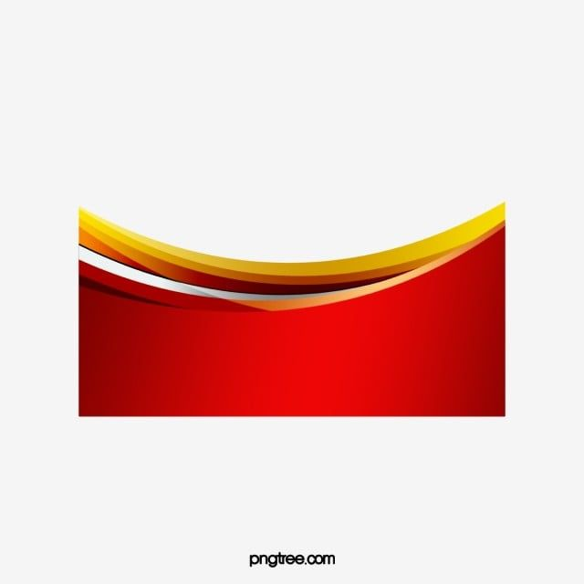 Border Curve Red Curve Frame Png Transparent Clipart Image And Psd File For Free Download Png Border Curve