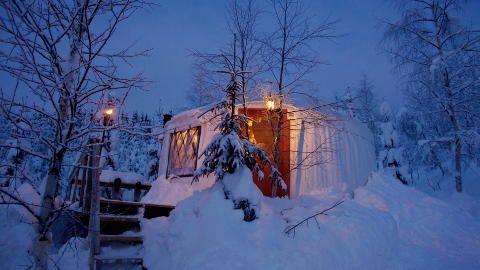 Halvorseth Camping in Sigdal.