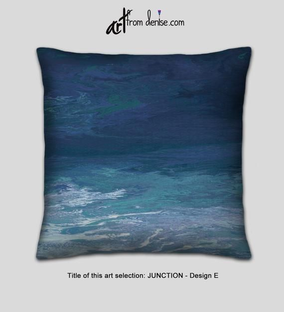 Teal Gray Navy Blue Decorative Pillows For Bed Decor Etsy Navy Blue Decorative Pillows Teal Pillows Decorative Couch Pillow Sets